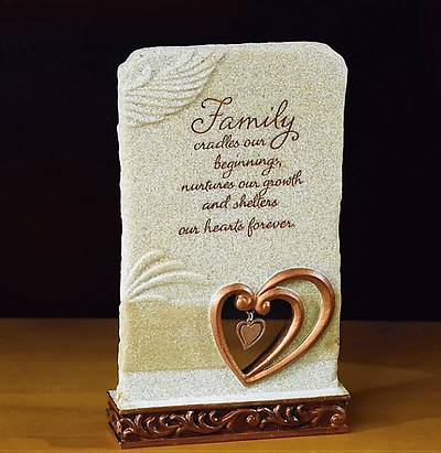 Family Large Plaque