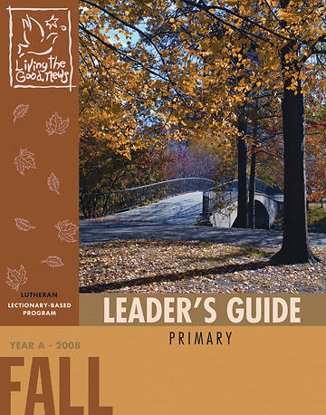 Picture of Living the Good News Fall Leader's Guide 2008 [Lutheran Version]