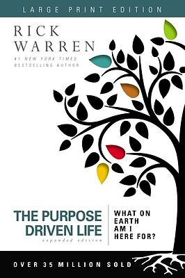 Picture of The Purpose Driven Life Expanded Edition Large Print