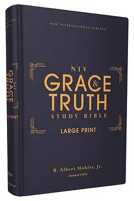 Picture of Niv, the Grace and Truth Study Bible, Large Print, Hardcover, Red Letter, Comfort Print