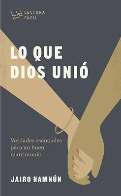 Picture of Lo Que Dios Unió