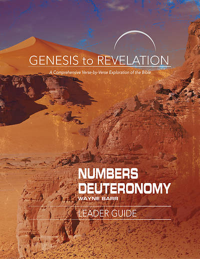 Picture of Genesis to Revelation: Numbers, Deuteronomy Leader Guide - eBook [ePub]