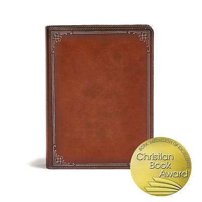 Picture of CSB Ancient Faith Study Bible, Tan Leathertouch