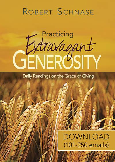 Picture of Practicing Extravagant Generosity Download 101-250