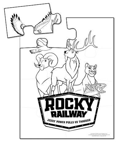 Picture of Vacation Bible School (VBS) 2020 Rocky Railway Preschool Fun Friends Puzzles (pkg of 10)