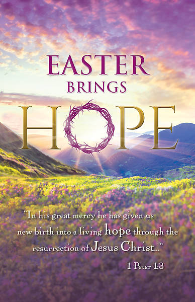 Easter Brings Hope Easter Regular Bulletin