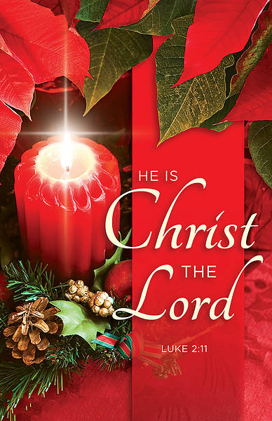 He is Christ the Lord Advent Bulletin