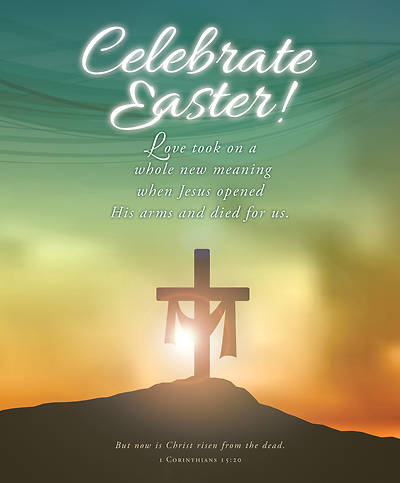 Celebrate Easter Legal Size Bulletin