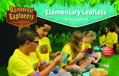 Picture of Vacation Bible School VBS 2021 Rainforest Explorers Elementary Leaflets