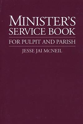 Picture of Minister's Service Book