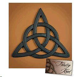 Wall Art Celtic Trinity Knot Resin