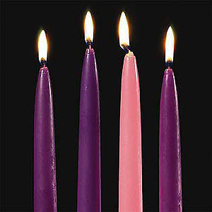 Advent Candles 10
