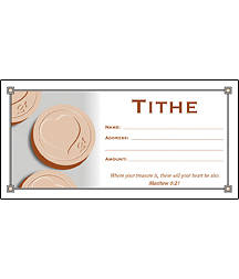 Envelope Offering Tithe (Package of 100)
