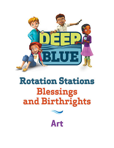 Picture of Deep Blue Rotation Station: Blessings and Birthrights - Art Station Download