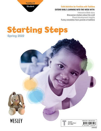 Wesley Toddler Starting Steps: Spring