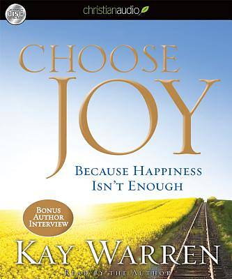 Choose Joy Audio Book