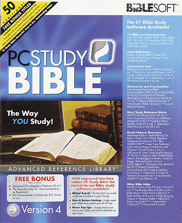 PC Study Bible™ Advanced Reference Library