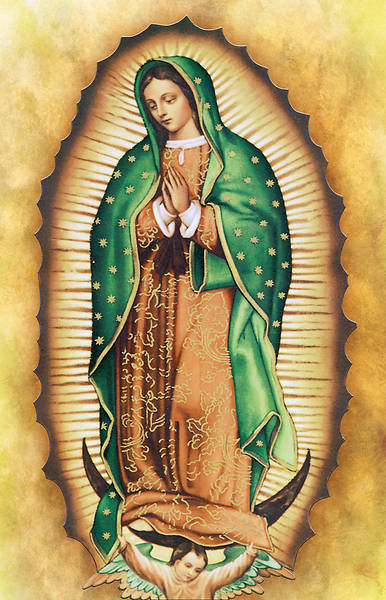 Lady Guadalupe Regular Size Bulletin
