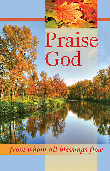 Praise God Bulletin, Regular (Package of 100)