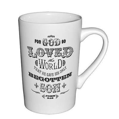 Picture of White Matte Mug - For God So Loved