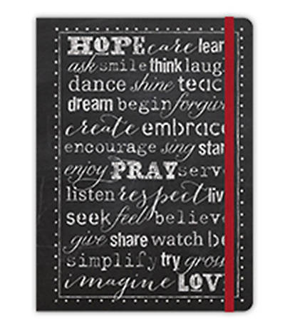 Hope, Pray, Love Inspirational Message Journal