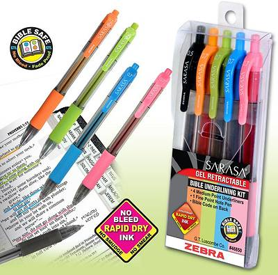 Zebra Bible Underling Kit
