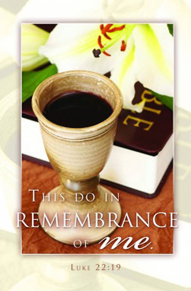 This Do in Remembrance of Me - Communion Bulletin, Regular (Package of 100)