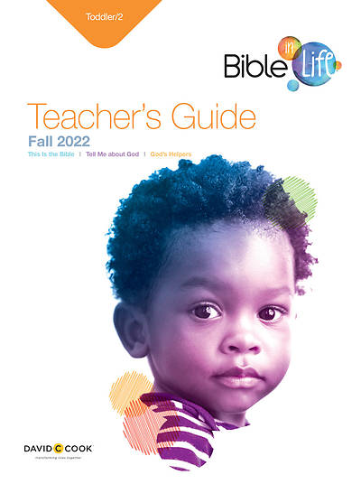 Picture of Bible in Life Toddler 2 Teacher Guide Fall