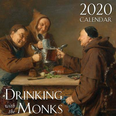 Picture of 2020 Drinking with the Monks Catholic Wall Calendar