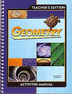 Picture of Geometry Activity Teacher Manual Grd 10 3rd Edition