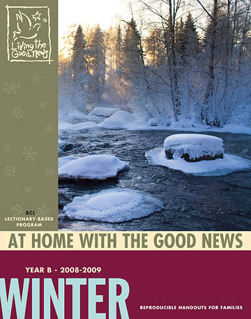Picture of Living the Good News Winter At Home with the Good News 2008 [Revised Common Lectionary Version]