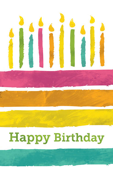 Picture of Happy Birthday Candles Postcard