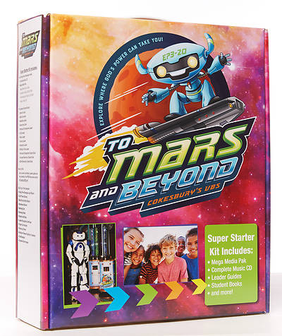 Vacation Bible School (VBS) To Mars and Beyond Super Starter Kit Plus Digital