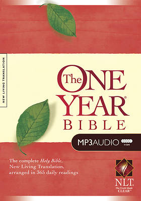 The One Year Bible New Living Translation (MP3)