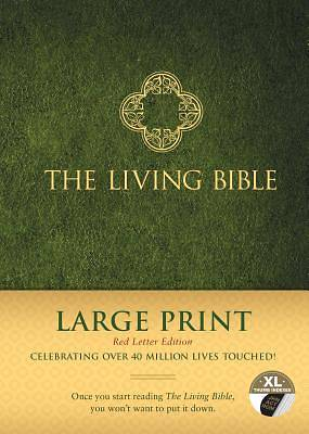Picture of The Living Bible Large Print Red Letter Edition