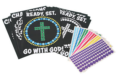 Picture of Vacation Bible School (VBS) 2020 Champions in Life Peel and Stick Art (Pkg of 12)