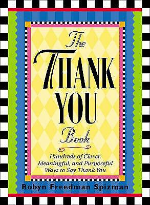 Thank You Book