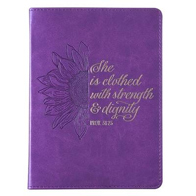 Picture of Journal She Is Clothed Proverbs 31