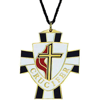 United Methodist Crucifer Pendant