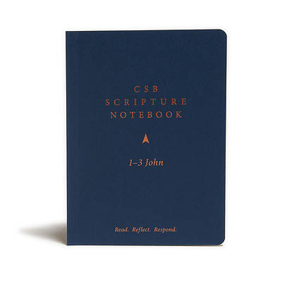 Picture of CSB Scripture Notebook, 1-3 John