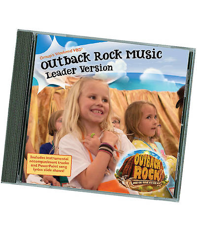 Picture of Group VBS 2015 Outback Rock Music Leader Version 2-CD Set