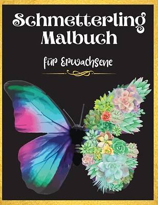 Picture of Schmetterling Malbuch für Erwachsene