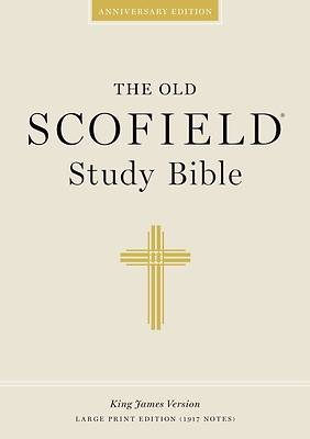 Picture of Bible KJV Scofield Study Large Print