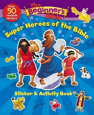 Picture of The Beginner's Bible Super Heroes of the Bible Sticker and Activity Book