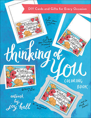 Picture of Thinking of You Coloring Book