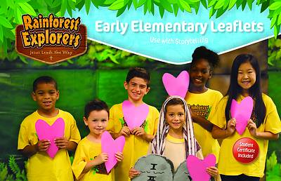 Picture of Vacation Bible School VBS 2021 Rainforest Explorers Early Elementary Leaflets