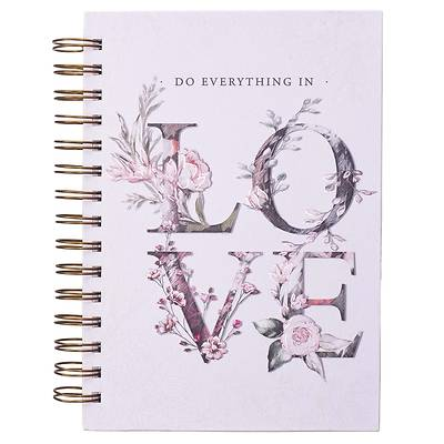 Picture of Journal Wirebound Large Everything in Love