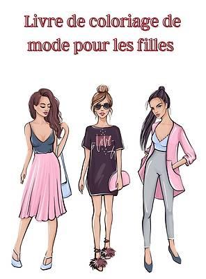 Picture of Livre de coloriage de mode pour les filles