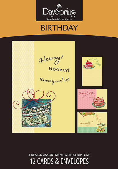 Birthday Whimsical Greetings Boxed Cards