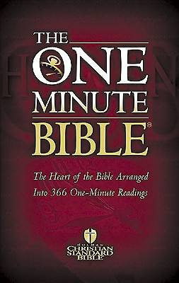 One Minute Bible-Hcsb